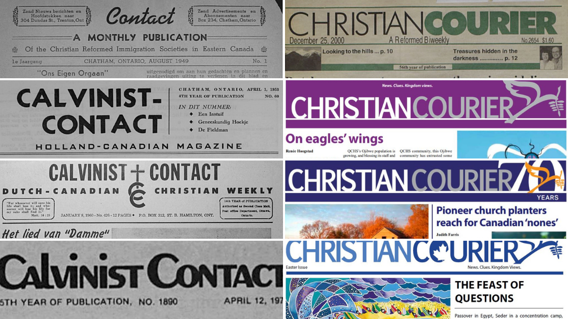CC covers from 1940, 50, 60, 70, 2000, 2010, 2015 and 2020