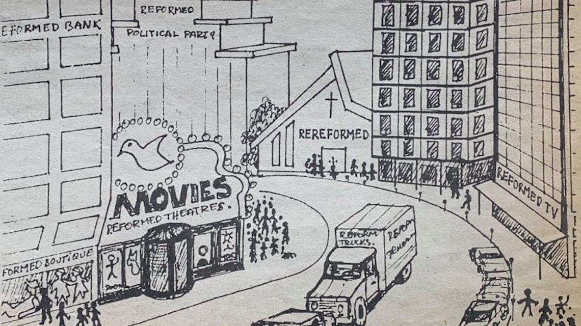 18 Bob Illustration by Jan de Bree for CC in 1988