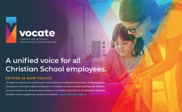 Edifide is Now Vocate