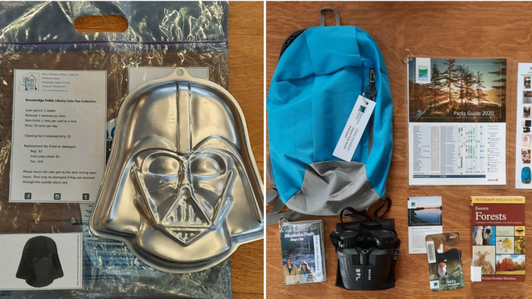 Need a Darth Vader cake pan or a backpack with binoculars?