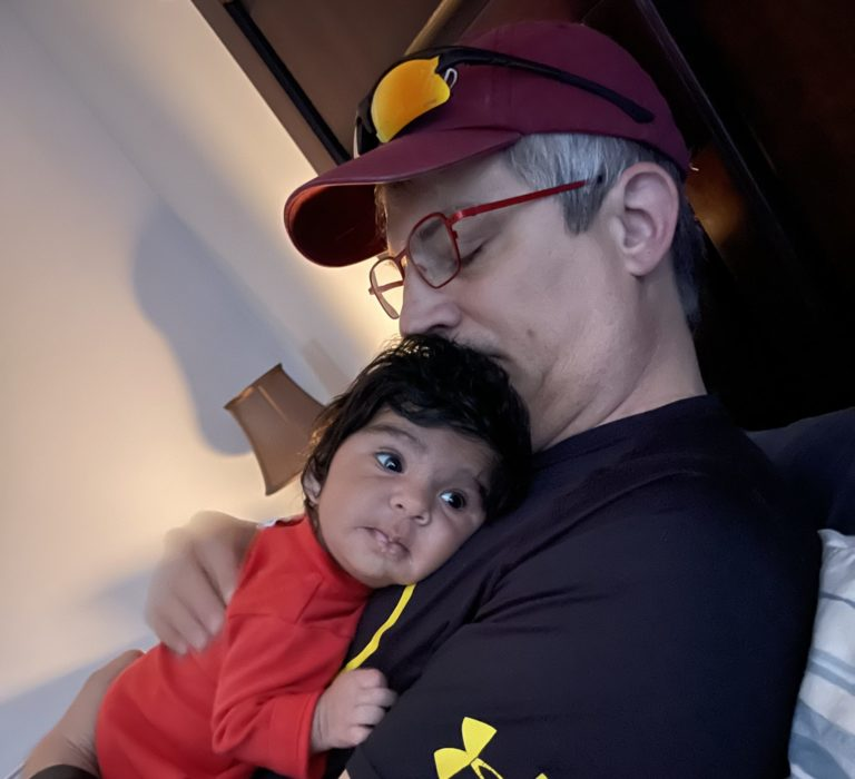 On becoming an older Dad