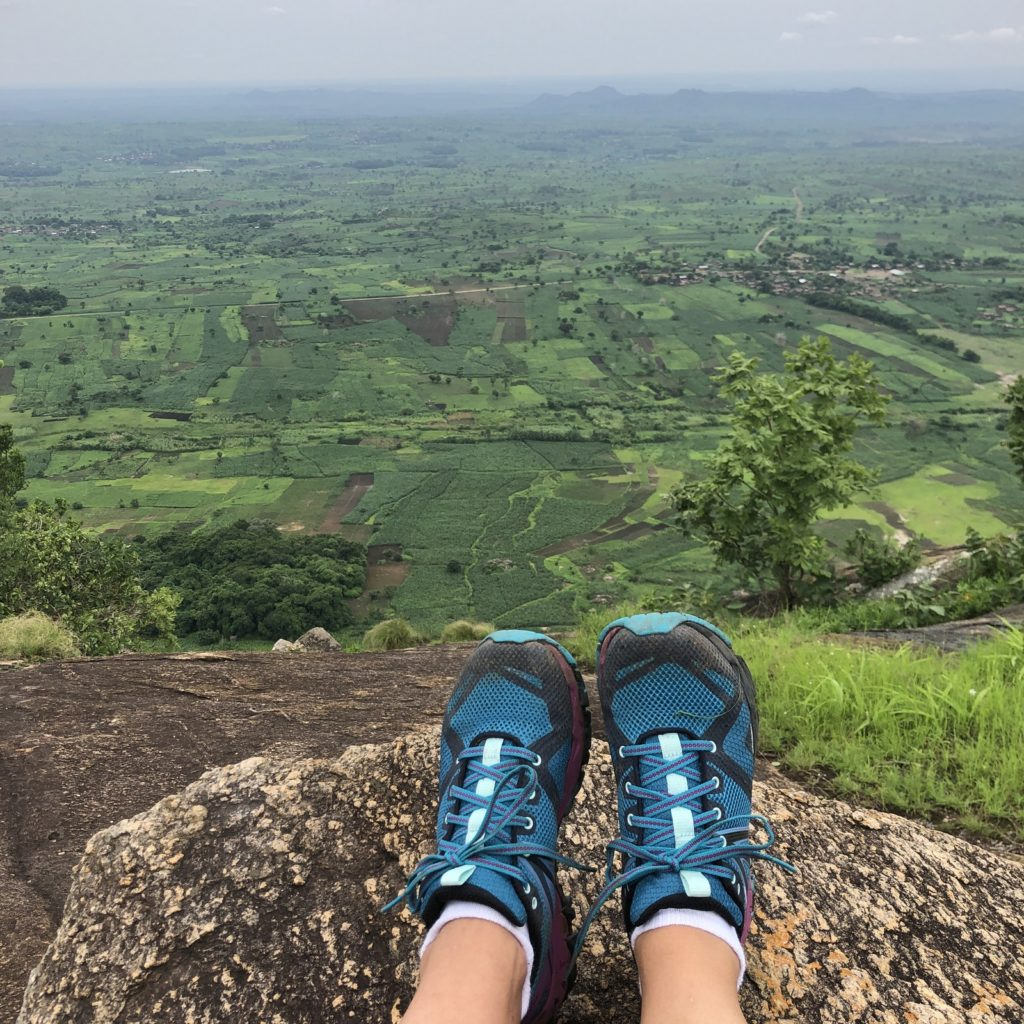 view from a mountain