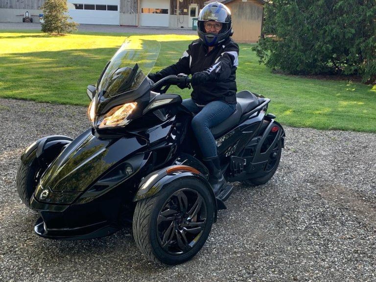 She rides again!