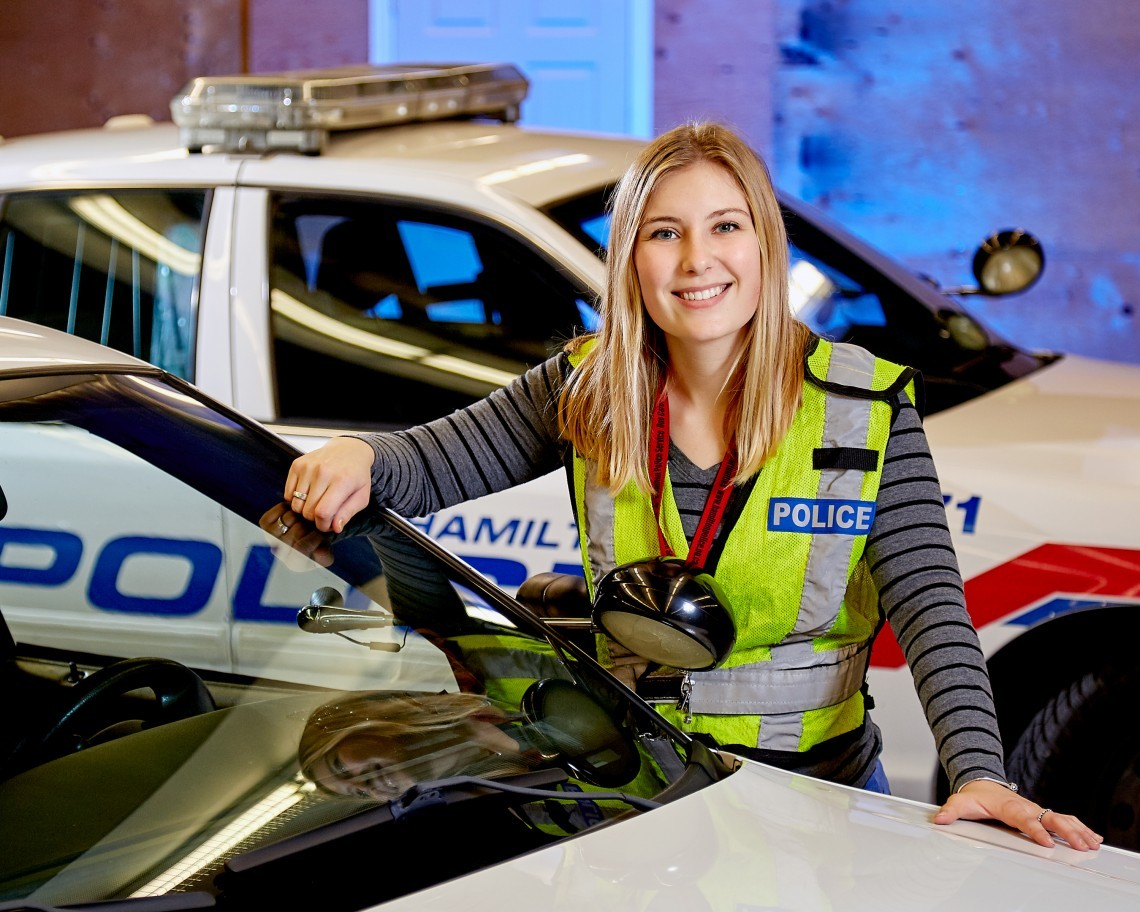Hamilton co-op student gets an inside look at the police service