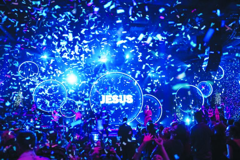 The Hillsong worship industry