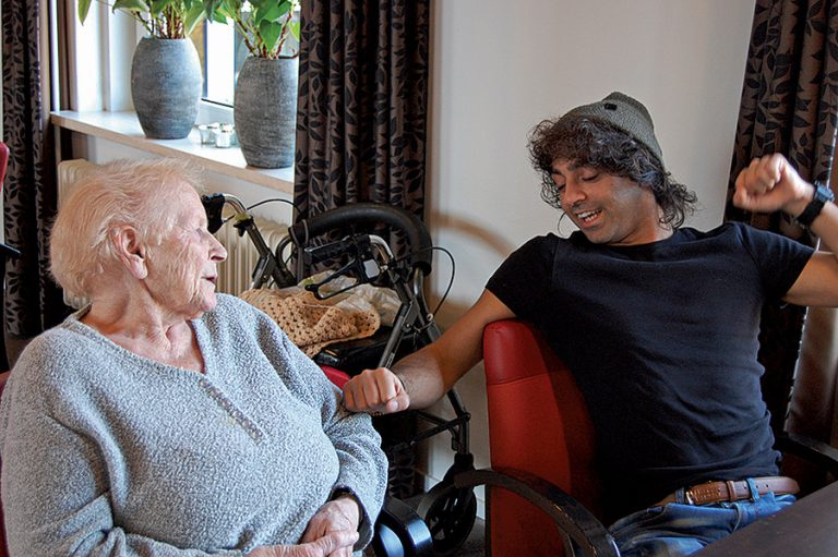 How adding youth to a Dutch old age home is improving life for all