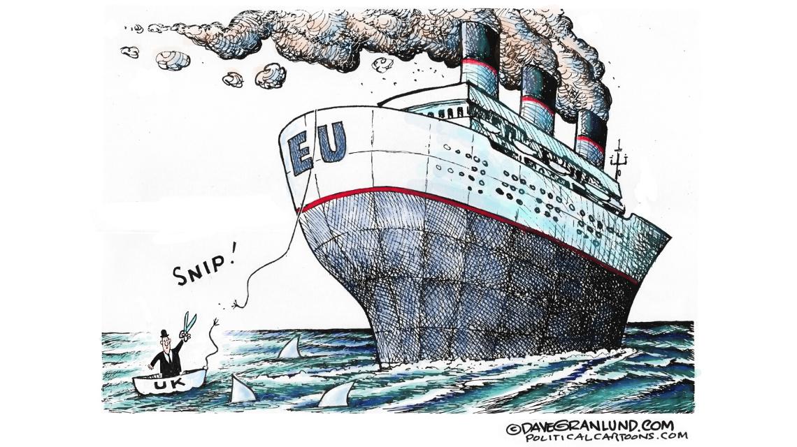 The UK leaves the EU