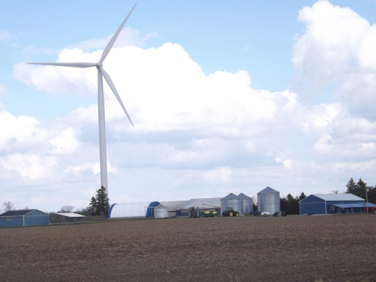 Wind turbines divide communities and twist green energy plans