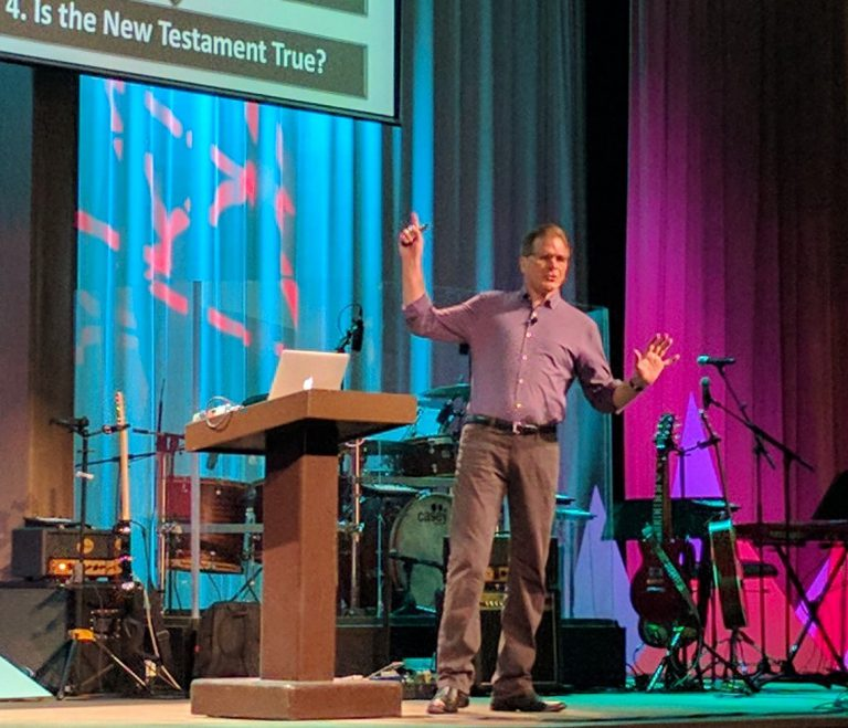 Apologist Frank Turek uses four questions to prove Christianity is true