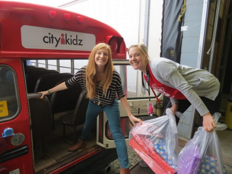 Discovering the gift of Christmas at City Kidz