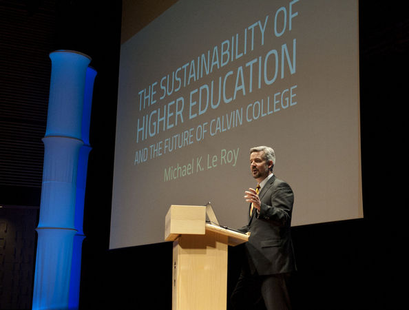 An Open Letter to Calvin College President Le Roy