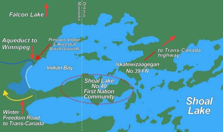 Steve Bell calls on churches to support Shoal Lake 40