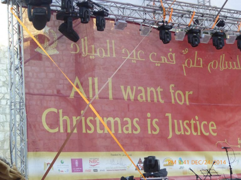 'A place for us':  Christmas Eve in Bethlehem