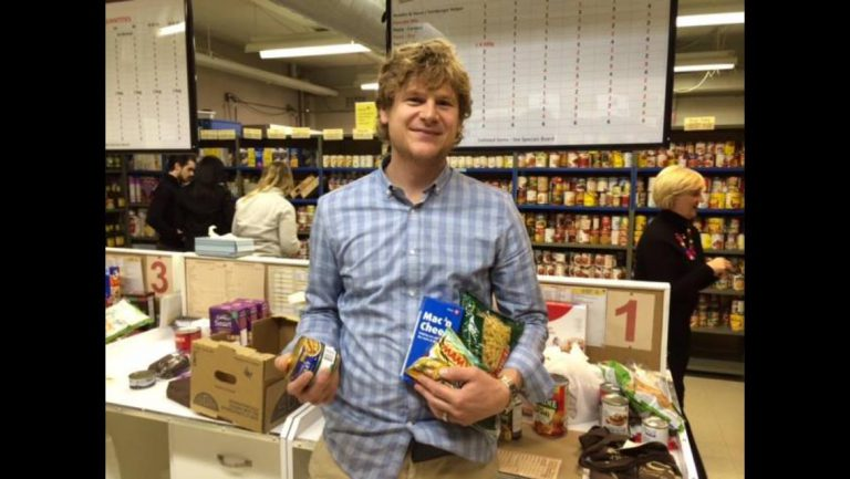 Karl Vanderkuip participates in Six People Hungry campaign