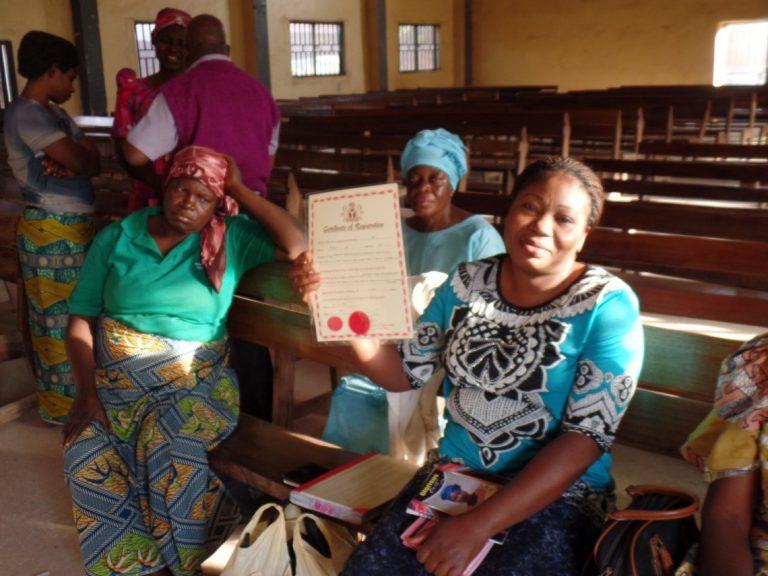 Women waiting for the bridegroom in Jos, Nigeria