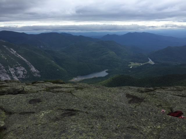 I climbed a mountain this summer