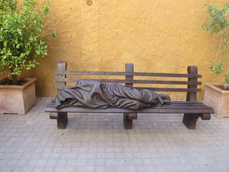 'Homeless Jesus' sculptor making Fort Mac monument